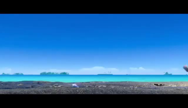 "Watch and share Moana BONUS CLIP ""Gone Fishing"" - Maui & Moana GIFs on Gfycat"