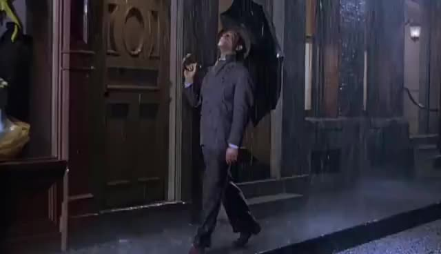 rain, raining, umbrella, umbrella GIFs