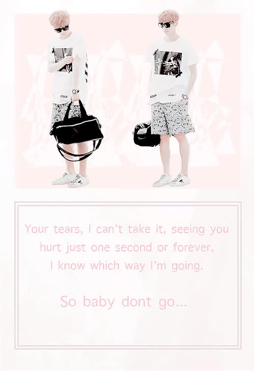 Watch Take me with you, forever I'll be with you GIF on Gfycat. Discover more exo, exo gfx, exo pale, exo pastel, i love you so much, i wish i could beg you not to go but what good would that do you, in time when your better and ready to come back i hope to see your lively carefree laughter again, luhan GIFs on Gfycat