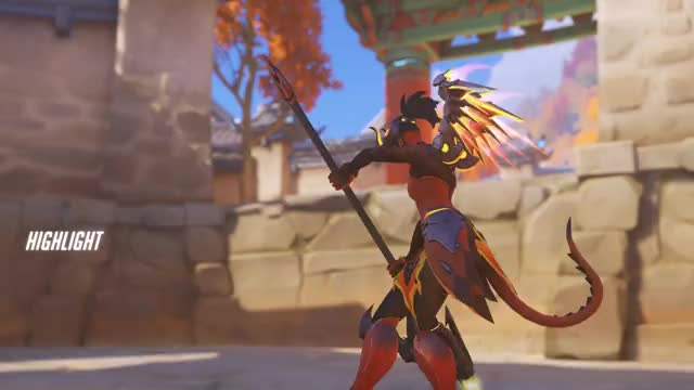 Watch Mercy GIF by @fundead on Gfycat. Discover more highlight, mercy, overwatch GIFs on Gfycat