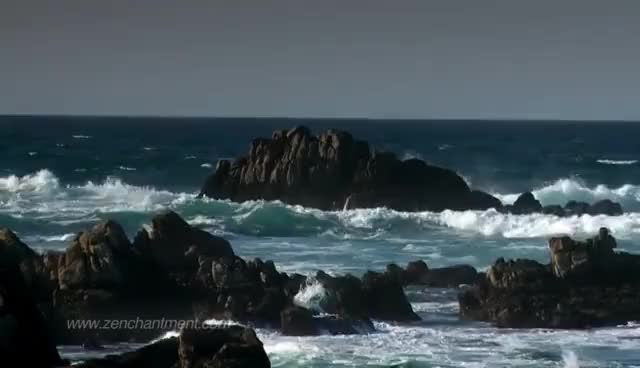 Watch and share Zen Ocean Waves - Ocean Sounds Only (NO MUSIC)  Aquatic Dream Therapy GIFs on Gfycat