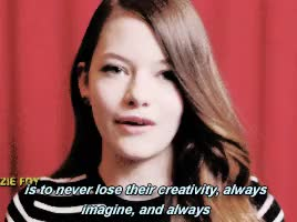 Watch and share Young Hollywood GIFs and Mackenzie Foy GIFs on Gfycat