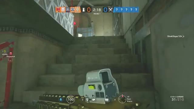 1v5 for the boys Rainbow6