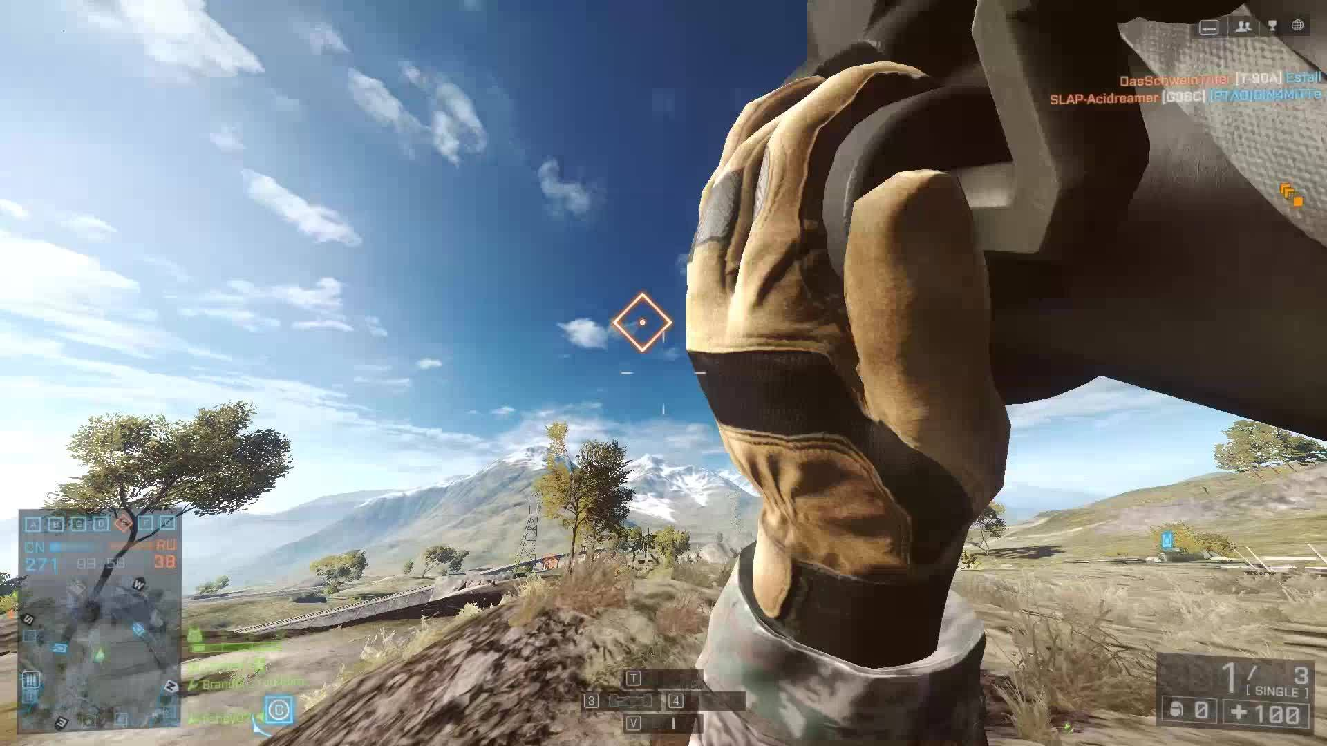 battlefield 4, battlefield_4, Trying to get a target from a recon. GIFs