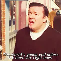 Watch and share Ricky Gervais GIFs on Gfycat