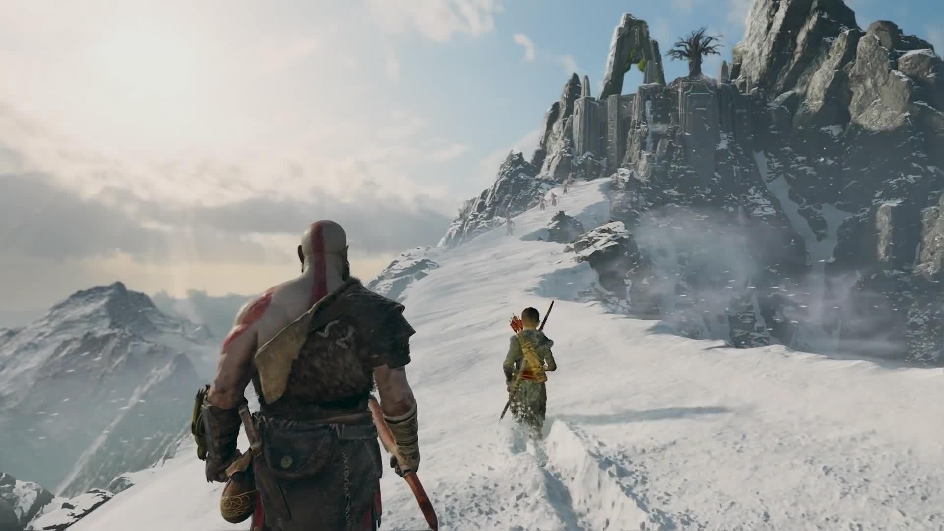 Cory Barlog, Creature, E3, E3 2017, Gameplay, God of War, Incredible, Kratos, Mythology, Norse, God of War - Be A Warrior: PS4 Gameplay Trailer | E3 2017 GIFs