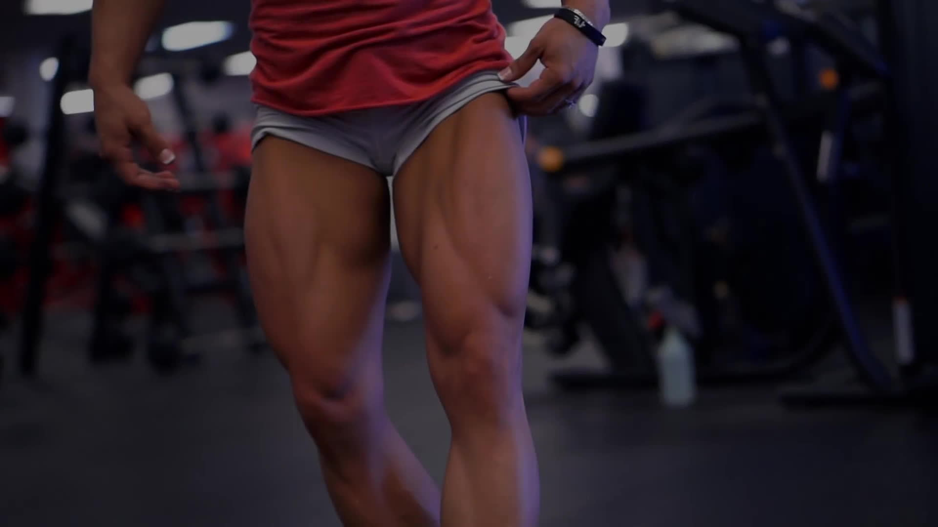 dani reardon, danielle reardon, fitandnatural, Dani Reardon - Days In The Universe - One Week Out 2016 Olympia - Back Training GIFs