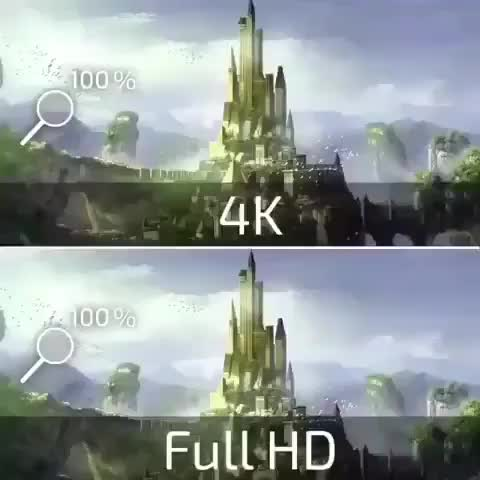 OVERKLOCK, Really soon 4K will be the standard 😎 . Lets go Technology!!! . |Comment down below| 👇 • • • Credit to: @boldbaldguy GIFs