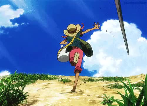 Watch and share Monkey D Luffy GIFs and Strong World GIFs on Gfycat