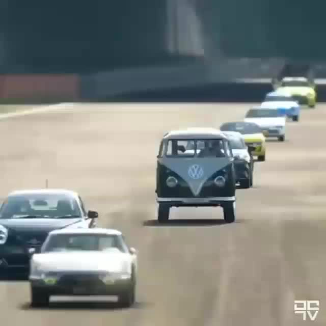 Watch Volkswagen Funny Race GIF on Gfycat. Discover more laremanjung GIFs on Gfycat