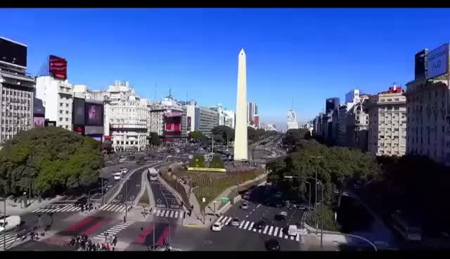 Watch and share Iniciales BA En El Obelisco (Buenos Aires, Argentina) GIFs on Gfycat