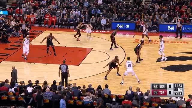 Watch 6 GIF by @prejuce on Gfycat. Discover more Brooklyn Nets, Toronto Raptors, basketball GIFs on Gfycat