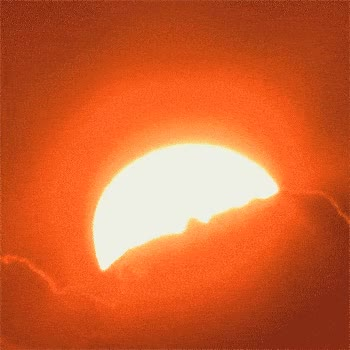 Watch and share Partial Solar Eclipse ANIMATED GIF - SpeakGif GIFs on Gfycat