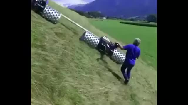 Watch The greatest lawnmower ever! GIF on Gfycat. Discover more related GIFs on Gfycat