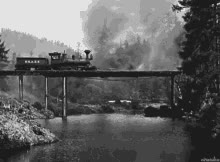 Watch and share Train Bridge GIFs on Gfycat