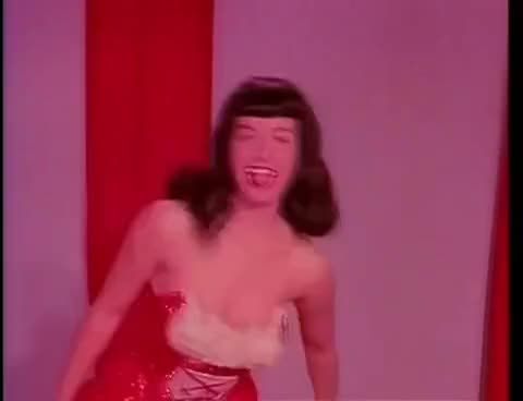 Watch BettiePage-TempestStorm2-1950s GIF on Gfycat. Discover more bettie, betty, irving, klaw, page, pin, pinup GIFs on Gfycat