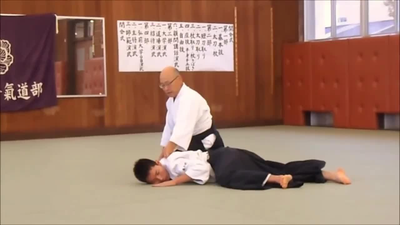 aikido, Tateyama Sempai style