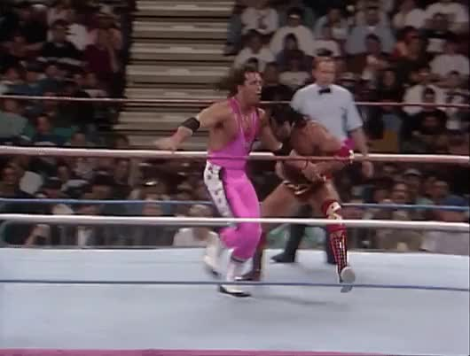 Watch and share Bret Hart Disapproves Your Move : SquaredCircle GIFs on Gfycat