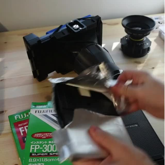 Watch and share Instant Film Astrophotography (FP-3000B45) GIFs by @Jase.Film on Gfycat