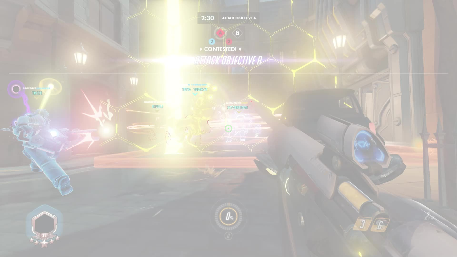 ana, highlight, overwatch, he's fallen and can't get up GIFs