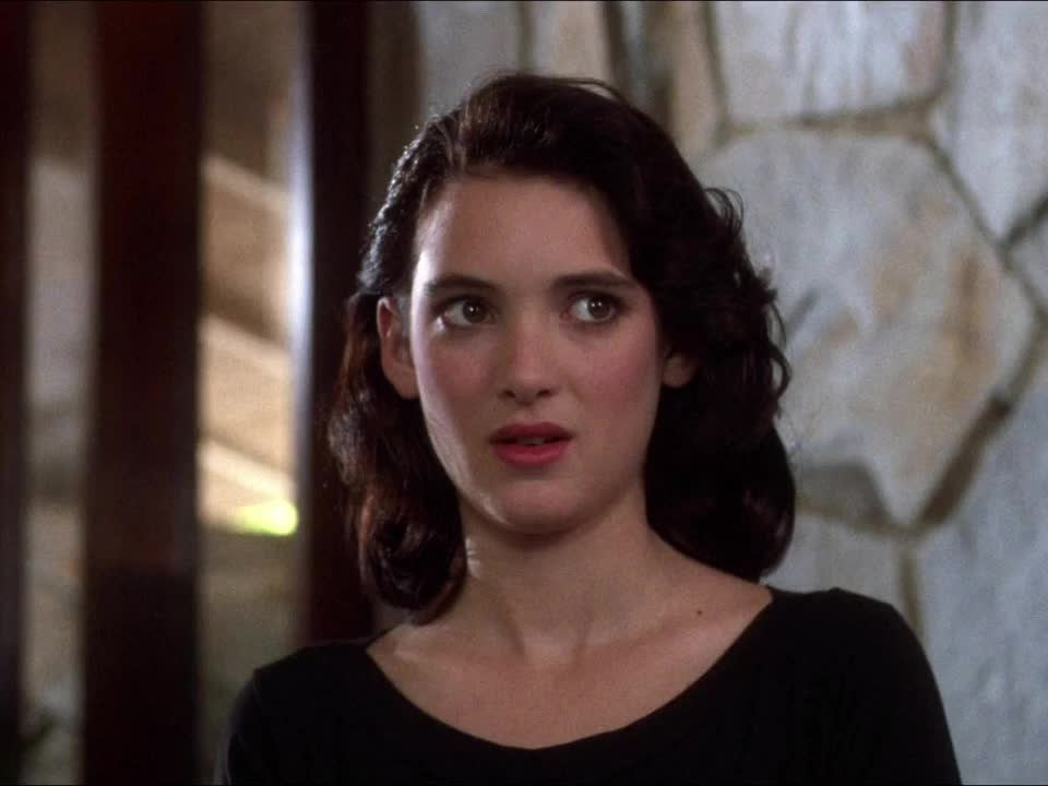 awkward, celebs, heathers, weird, well ok then, winona ryder, Heathers - Right GIFs