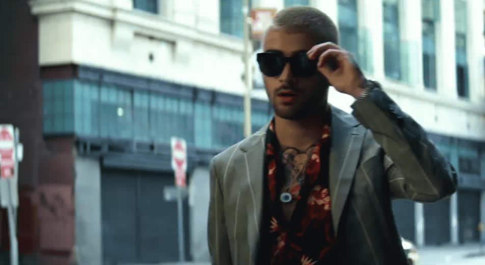 deal with it, dusk till dawn, music video, sunglasses, zayn, Zayn - Dusk Till Dawn GIFs