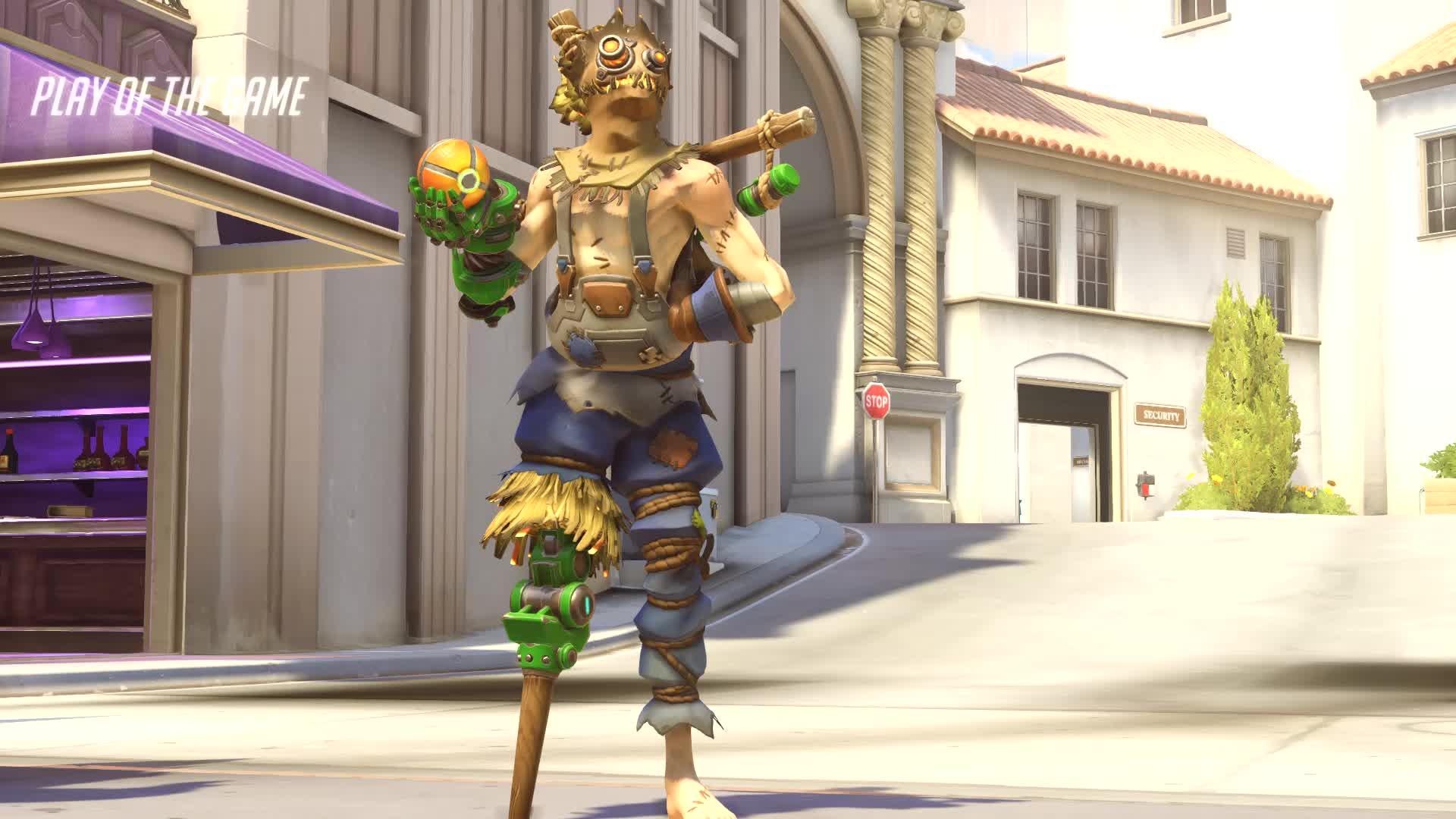 why im getting a gold junkrat gun GIFs