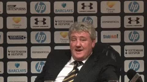 Watch and share STEVE BRUCE BLASTS REF GIFs on Gfycat