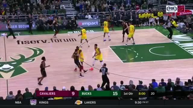 Watch and share Cleveland Cavaliers GIFs and Milwaukee Bucks GIFs on Gfycat