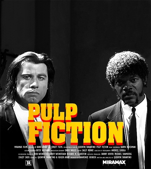john travolta, pulp fiction, samuel l jackson, Pulp Fiction GIFs