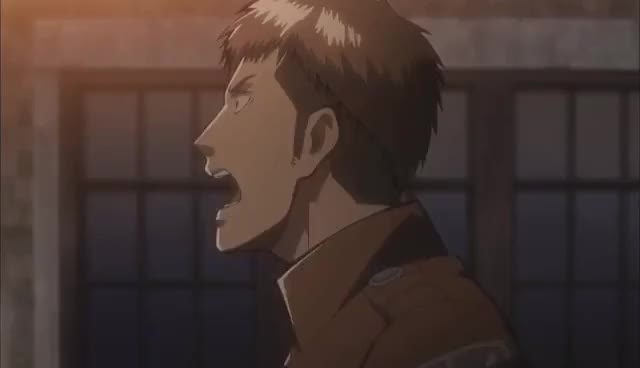 Watch this trending GIF on Gfycat. Discover more attack, jean, kyojin, shinki, snk, titan GIFs on Gfycat