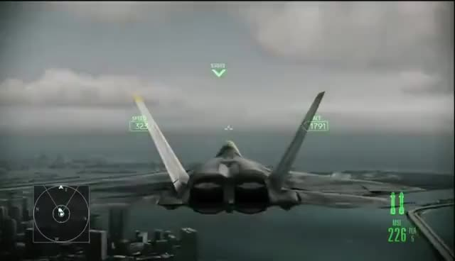 Watch and share Ace Combat Assault Horizon - Part 14 - Home Front GIFs on Gfycat