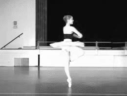 Watch and share Ballet Dancer Ballerina Gif GIFs on Gfycat