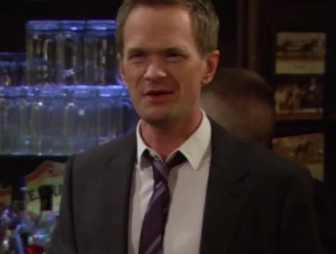 barney, funny, gif brewery, himym, how i met your mother, just, neil patrick harris, stinson, wink, winked, winking, Barney You Just Winked GIFs