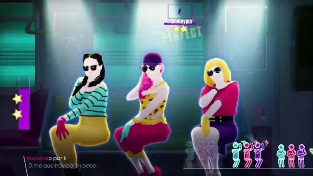 "Watch Just Dance 2018: Chantaje (Alternate) - 5 stars GIF by Jeremy ""Germ Warfare"" Warton (@germ_warfare) on Gfycat. Discover more dance, jd2018, just, just dance, just dance 2018, just dance 2018 gameplay, kinect, playstation, ubisoft, xbox GIFs on Gfycat"