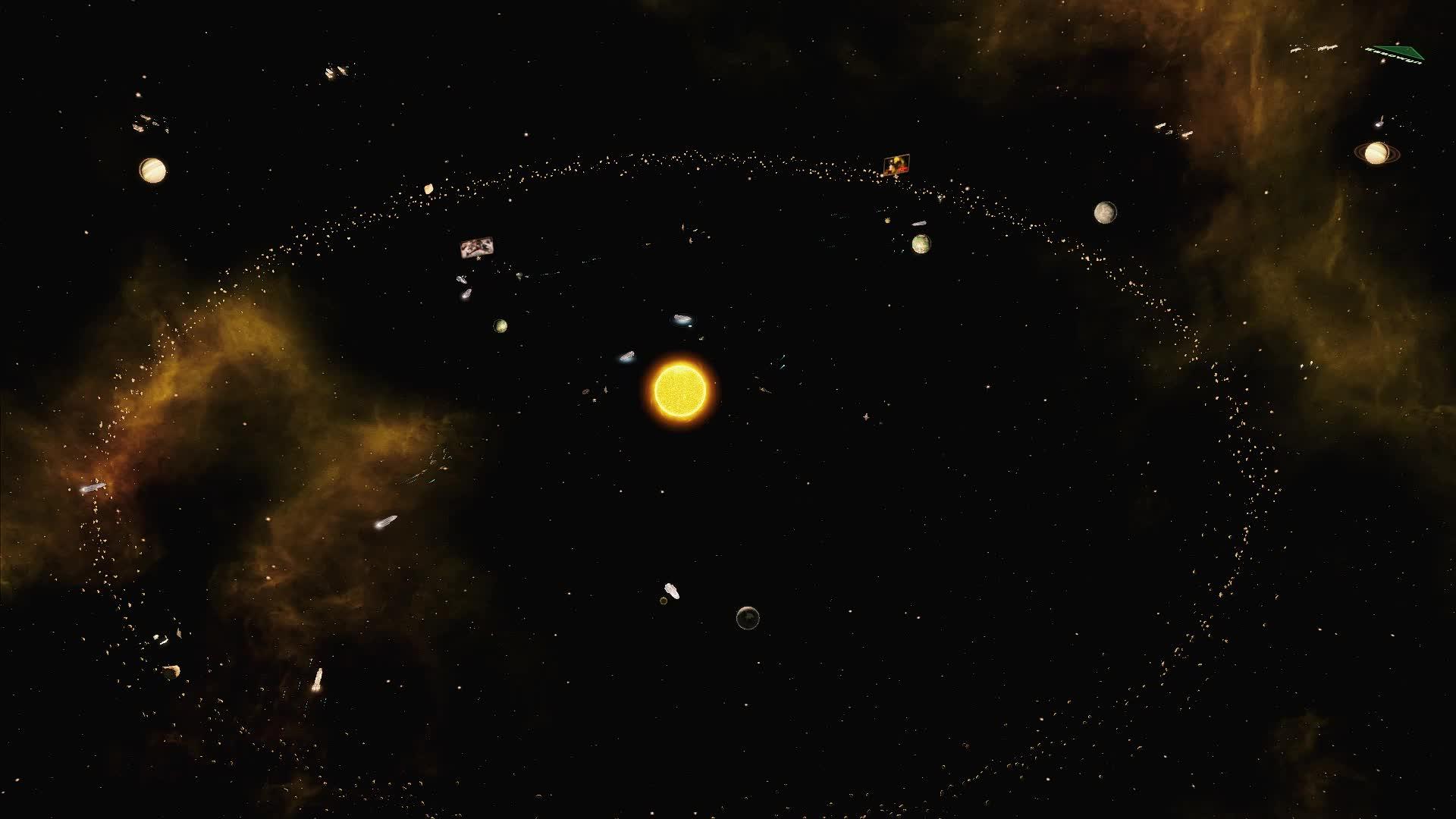Stellaris, stellaris, ISBS - Living Systems ( Timelapse - 4x speed) GIFs