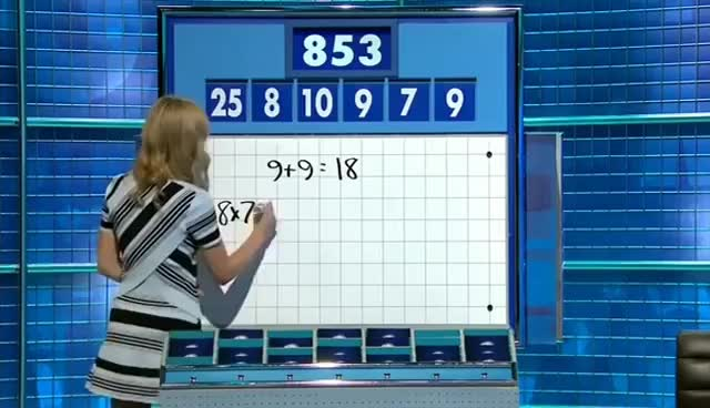 Watch and share Rachel Riley GIFs on Gfycat