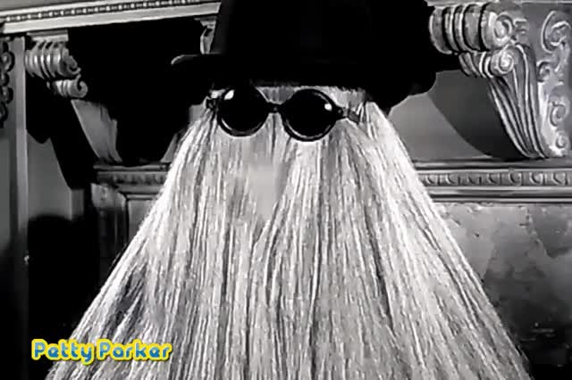 Watch and share Addams Family GIFs and Cousin Itt GIFs by Petty Parker on Gfycat