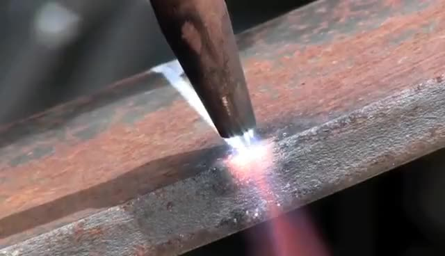 Watch and share How To Cut With A Torch. Oxygen Acetylene Welding Cutting Torch GIFs on Gfycat
