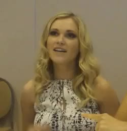 Watch and share Eliza Taylor GIFs and Celebrity GIFs on Gfycat