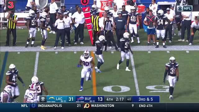 Watch Chargers vs. Bills Week 2 Highlights | NFL 2018 GIF on Gfycat. Discover more American Football, Football, NFL, afc, defense, game, highlight, highlights, nfc, offense GIFs on Gfycat