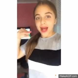 Watch and share Baby Ariel Musical.ly Videos GIFs on Gfycat