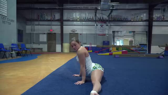 more of the legal age teenager gymnast
