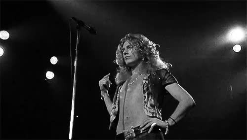 Watch this GIF on Gfycat. Discover more Classic Rock, Led Zeppelin, Music, Robert Plant, Rock and Roll GIFs on Gfycat