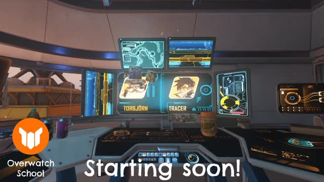 Watch and share Overwatch School Starting Soon Overlay GIFs by ciaran on Gfycat