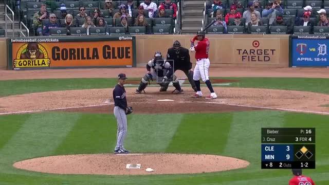 Watch and share Shane Bieber Sl GIFs and Baseball GIFs on Gfycat