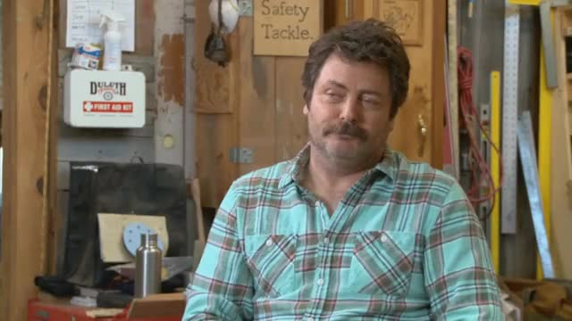 Watch and share Nick Offerman GIFs and Reactions GIFs by Reactions on Gfycat