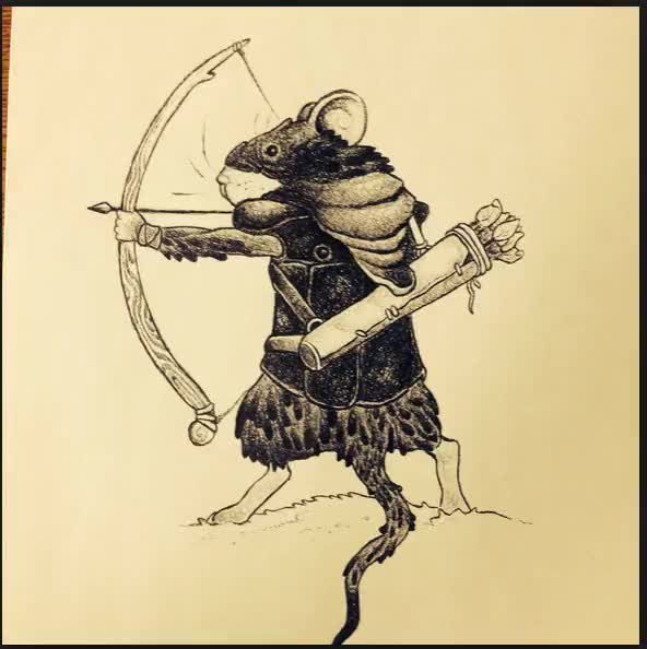 Watch and share Mouse Archer GIFs on Gfycat