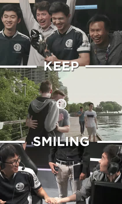 TeamSolomid, teamsolomid, Team Smiling Men GIFs