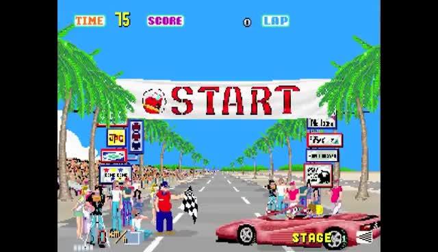 arcade, car, ferrari, outrun, race, outrun-arcade GIFs